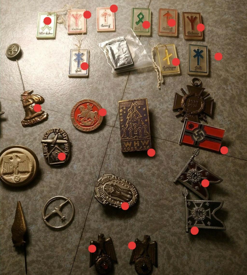 Lot insignes III Reich Vichy FFI à authentifier? 20200324
