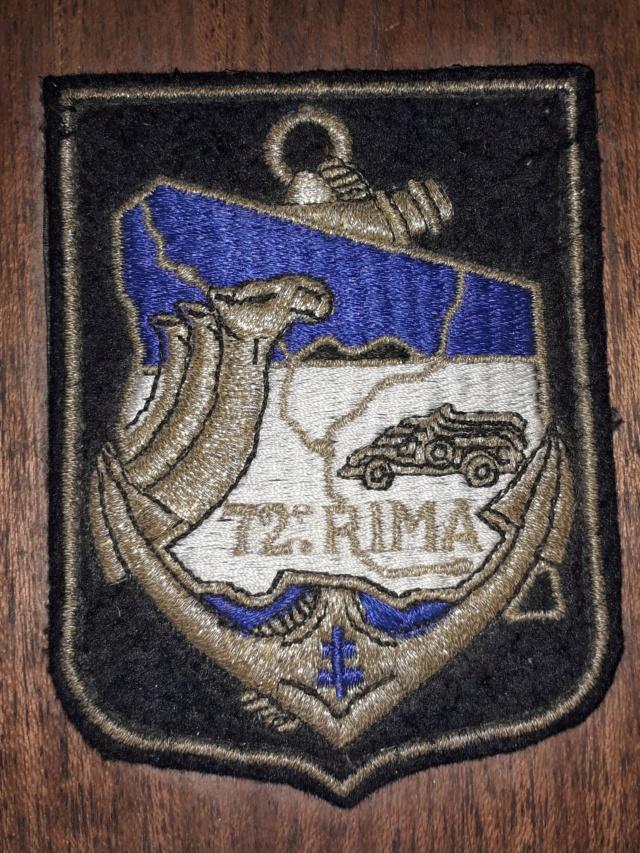 Insigne tissu 72e RIMA 20200687