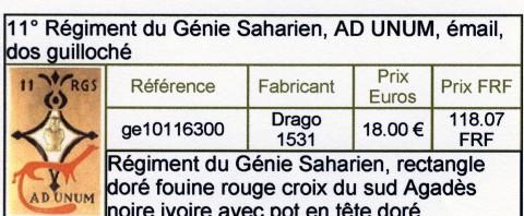 11 ème REGIMENT DU GENIE SAHARIEN ( 11 émé RGS ) Sans_t13