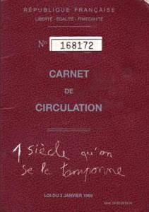 Fin du livret de circulation Carnet10