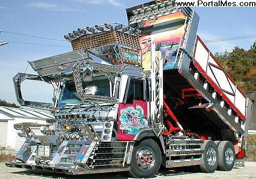 Camion benne tuné (baroque)... Super_10