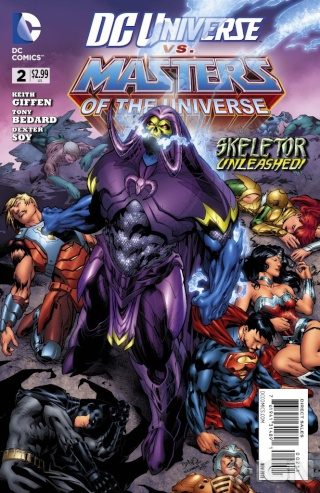 He-man and the masters of the universe DC comics Dcu-vs10