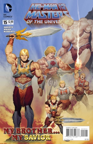 He-man and the masters of the universe DC comics Stk64310