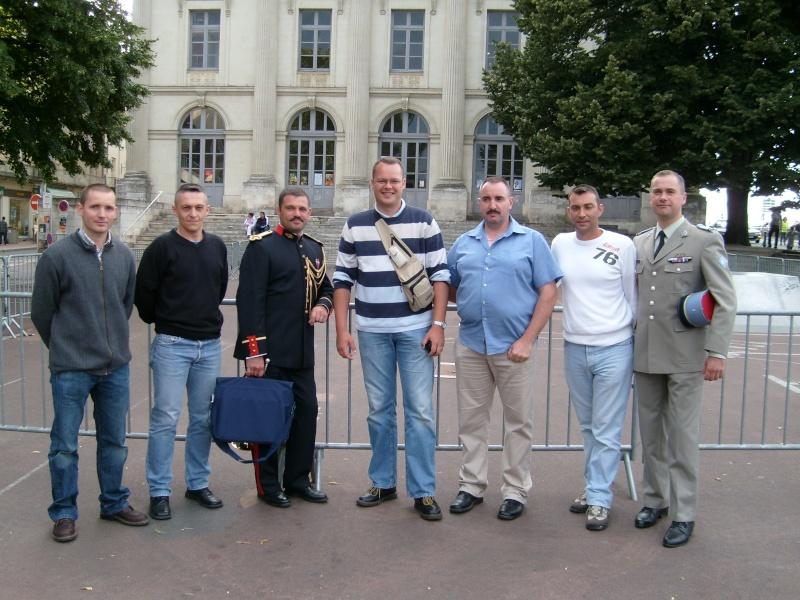 Les anciens de la Fanfare Principale de l'ABC à Saumur S7300011