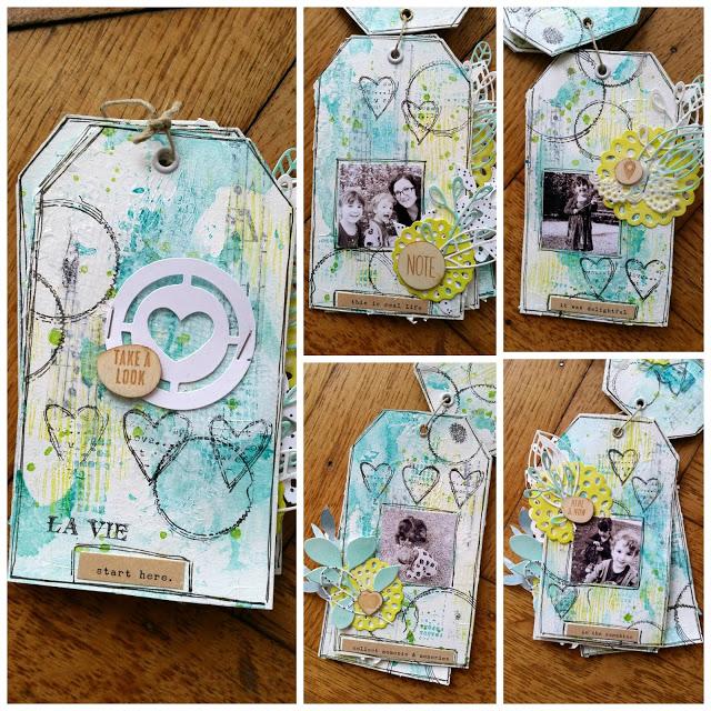 Mini-album tag + patouille Picmon10