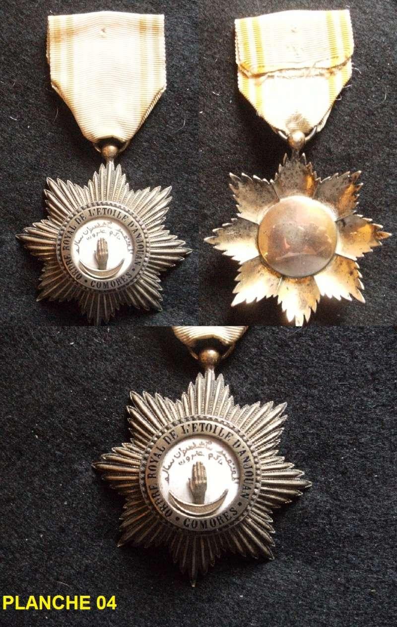 Planche 04 ( Chevalier Ordre Royal de l'Etoile d'Anjouan) TERMINE Fimven13