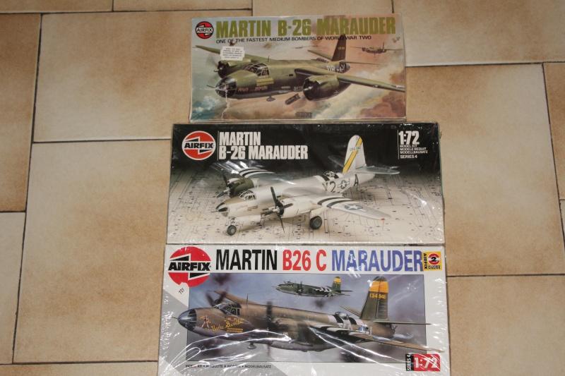 [AIRFIX] MARTIN B-26B MARAUDER 1/72ème Réf 04015 Img_5237