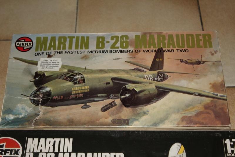 [AIRFIX] MARTIN B-26B MARAUDER 1/72ème Réf 04015 Img_5238