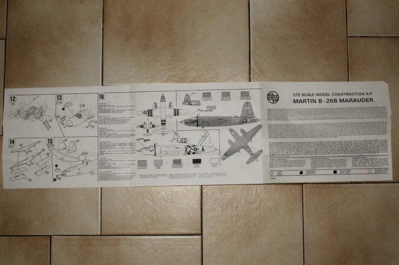 [AIRFIX] MARTIN B-26B MARAUDER 1/72ème Réf 04015 Img_5239