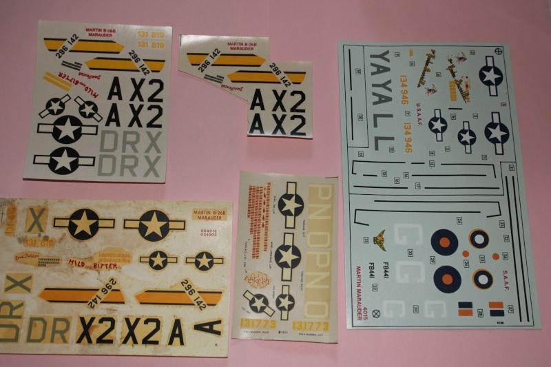 [AIRFIX] MARTIN B-26B MARAUDER 1/72ème Réf 04015 Img_5256