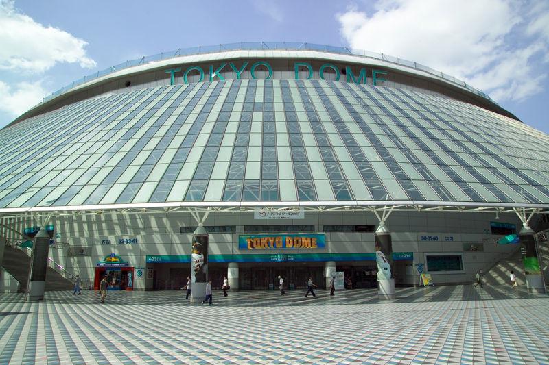 Tokyo Dome, Bunkyo Ward, Tokyo - Japon 800px-10