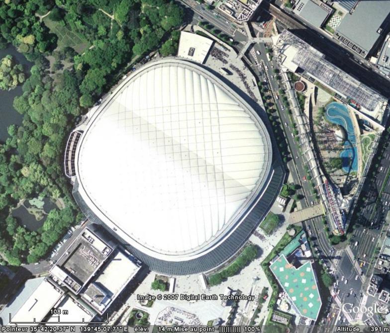 Tokyo Dome, Bunkyo Ward, Tokyo - Japon Stade_10