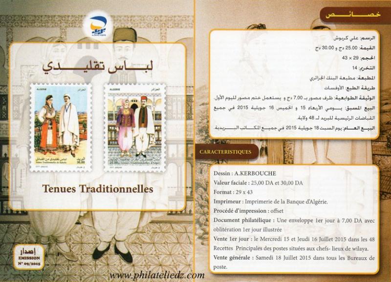 Les tenues traditionnelles algériennes A110