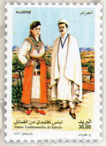 Les tenues traditionnelles algériennes A310