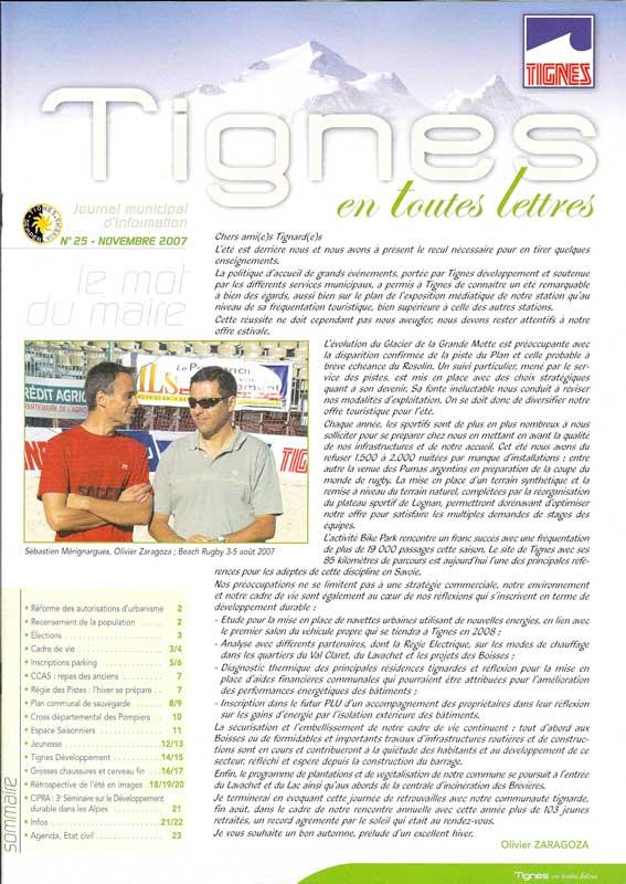 [Tignes]Tignes en toutes lettres (editorial) Edito10