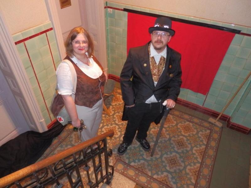 [Terminé] [année 30] Costume pour murder années 30 lègèrement steampunk - Page 2 P2220111