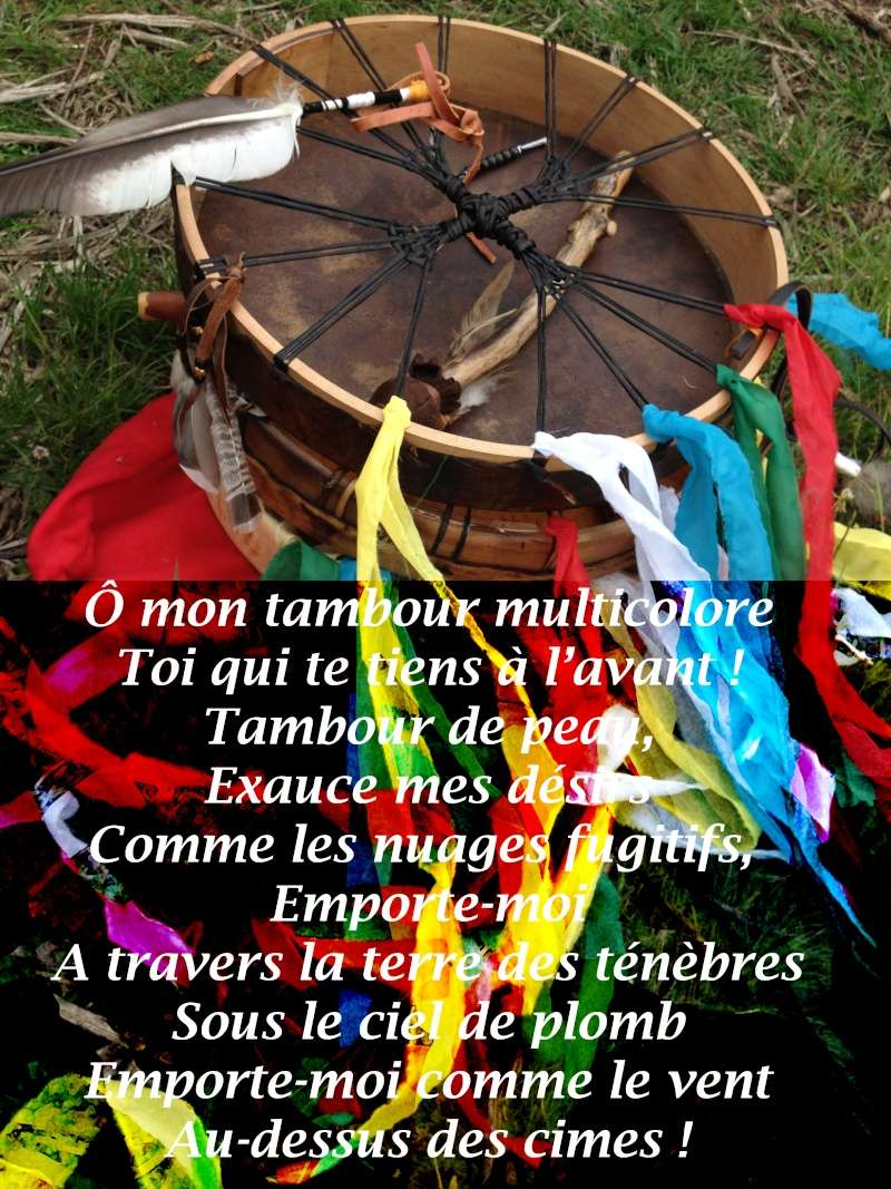 chant shamanique des Soyotes (Tuvas) Sibérie. Tambou10