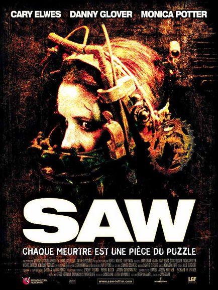 La saga des films SAW 18409110