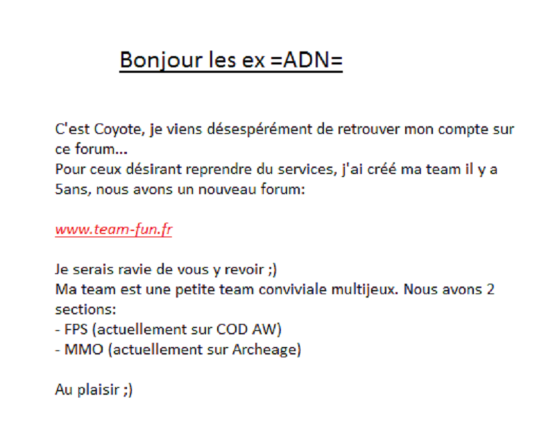 -=ADN=- Arche De Noé -=Call Of Duty 4=-