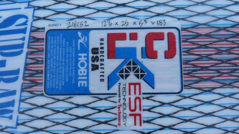 HOBIE Apex Raw 12'6 (vendue) P1020813