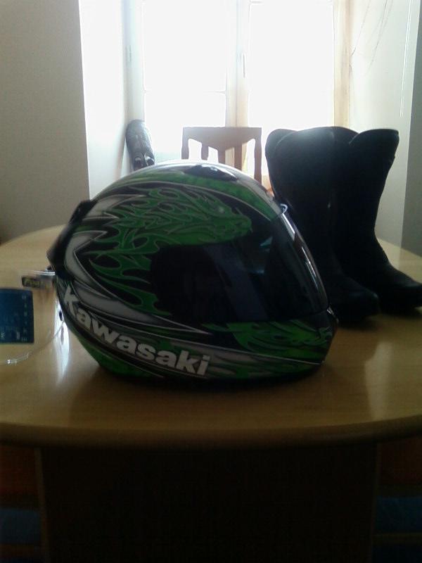 Le casque Kawasaki Ninja Sp_a0110