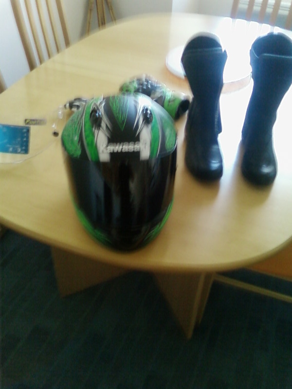 Le casque Kawasaki Ninja Sp_a0111