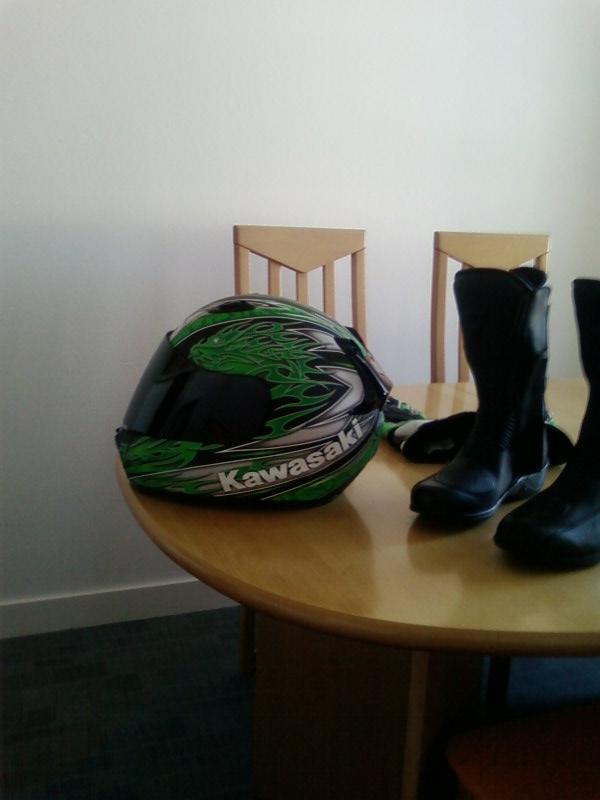 Le casque Kawasaki Ninja Sp_a0112