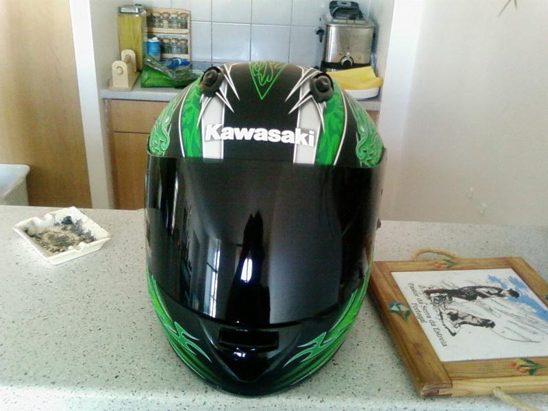 Le casque Kawasaki Ninja Sp_a0118