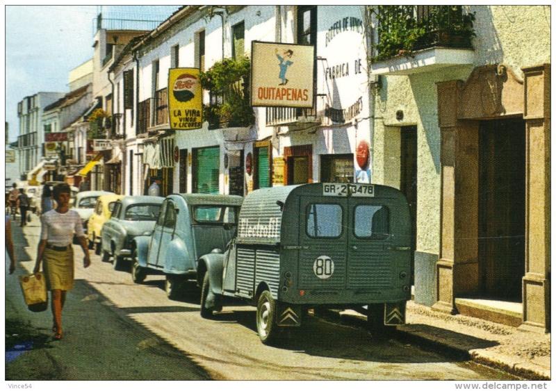Photos et cartes postale 2cv camionnette  - Page 5 2cv_el10