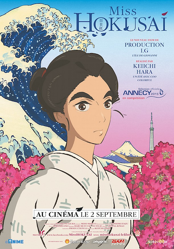 MISS HOKUSAI - Production I.G - FR : 02 septembre 2015 Missho10