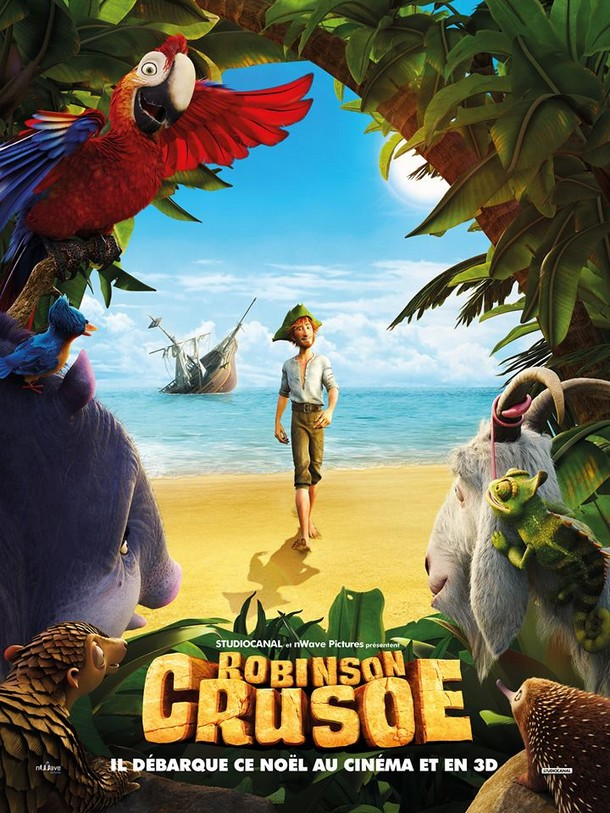 ROBINSON CRUSOE - nWave/StudioCanal - 23 décembre 2015 Robins10