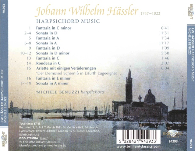 Johann Wilhelm Hassler (Hässler) (1747-1822) Docume11
