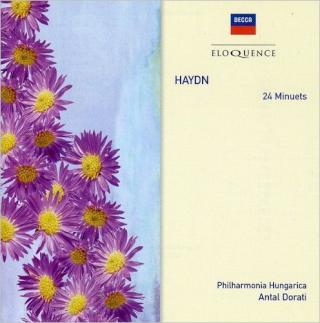 24 Menuets pour orchestre Hob IX.16 Haydn10