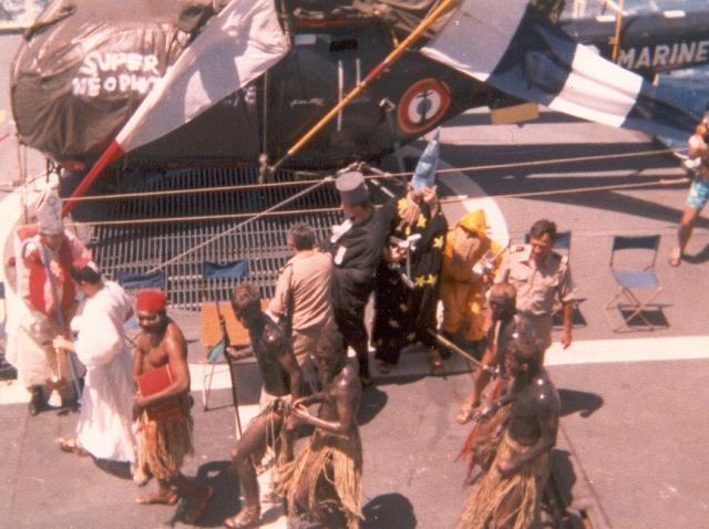 [ Les traditions dans la Marine ] LE PASSAGE DE LA LIGNE - ÉQUATEUR (Sujet unique) - Page 2 Ligne610