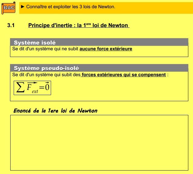 Chapitre 14 : Mécanique newtonienne 0415