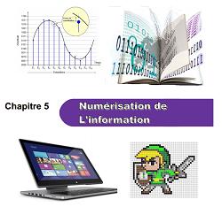 Chapitre 5 : Numérisation de l'information Chap510