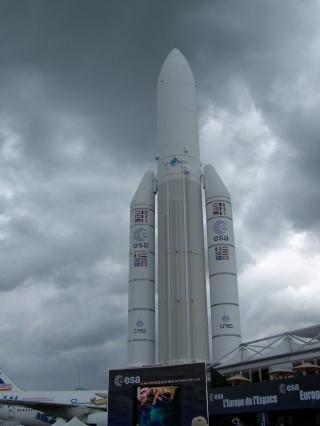 Le CERA au salon du Bourget Ariane12