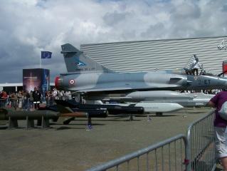 Le CERA au salon du Bourget Mirage11