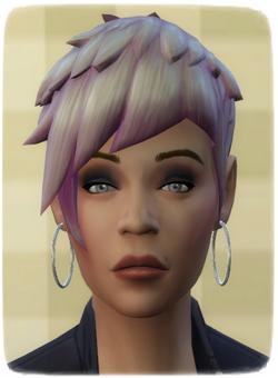 [Challenge] Tranches de Sims: Le couple des contraires Sylvie11