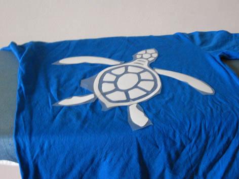 En image : réalisation d'un T-shirt avec flex Positi10