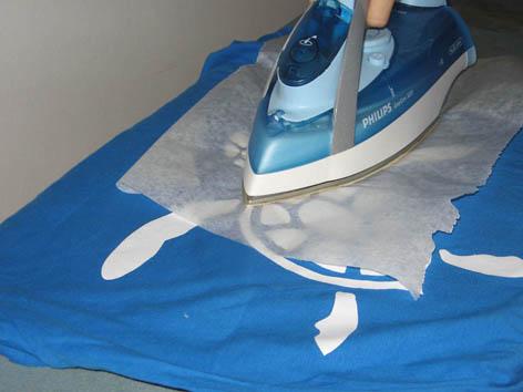 En image : réalisation d'un T-shirt avec flex Repass11