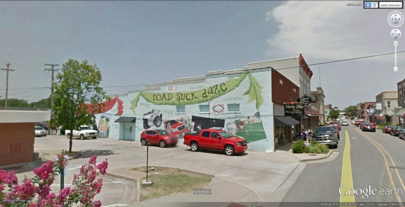 STREET VIEW : Festival de Toadsuck Daze, Conwai, Arkansas - USA Toadsu11