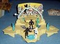 L'arène de combat et les 3 battle stages Arenes21
