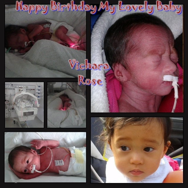 Happy Birthday To My Lovely Baby Vichara Rose Photo_11