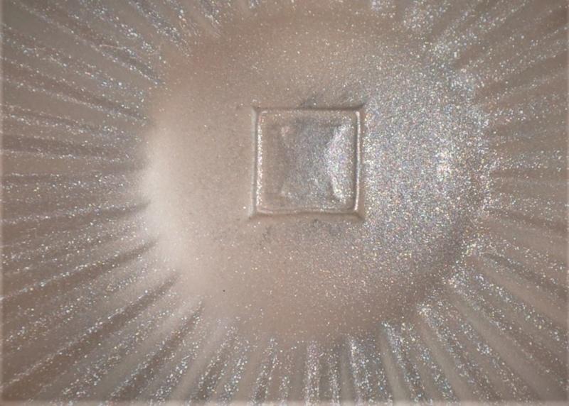dessous de plat Verre Les Andelys et métal argenté Roux-Marquiand Dsc_0389
