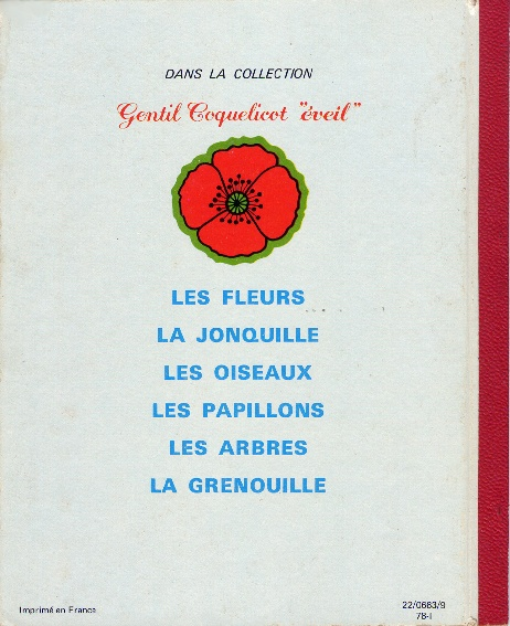 Collection Gentil Coquelicot 6510