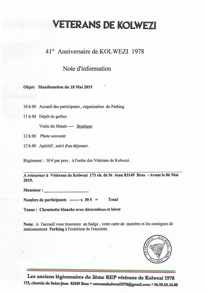 - Il  y  aura  40  ans  le  18  mai le 2  éme  REP  saute  sur  KOLWEZI Kwz_4110