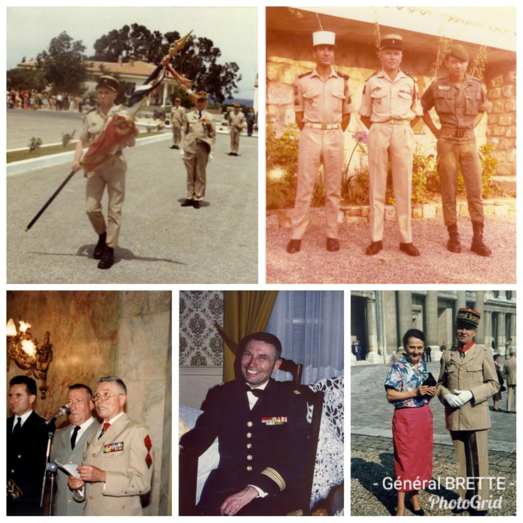 décés du Général Brette , ancien chef de corps du 2° REP. Photos10