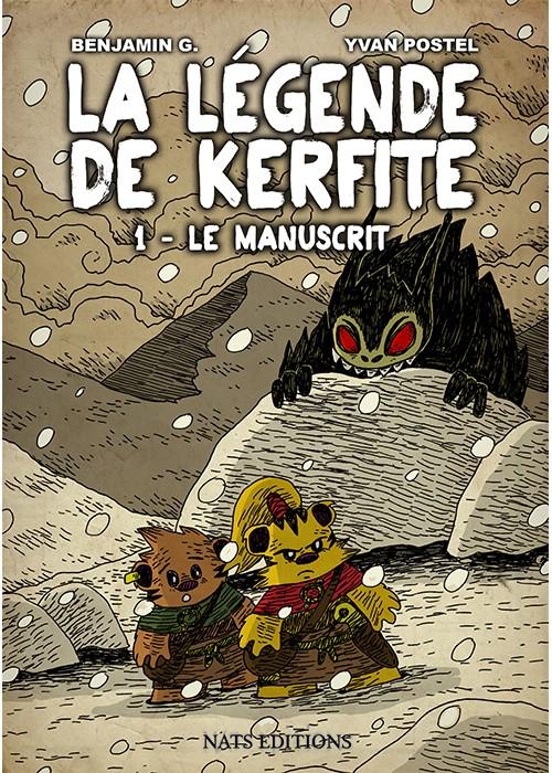 La légende de Kerfite - Tomes 1 & 2 [G., Benjamin & Postel, Yvan] 568f8d11