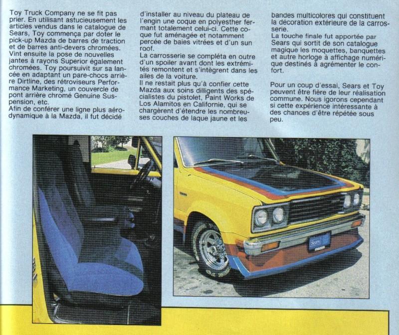[MAZDA PICK-UP] MAZDA PICK UP custom en 1983... Mazda_12
